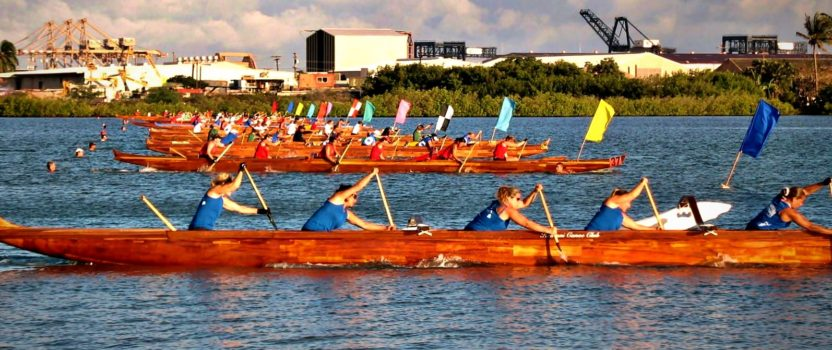 Hawaiian Canoe Racing Association Hosts State Championships on Maui