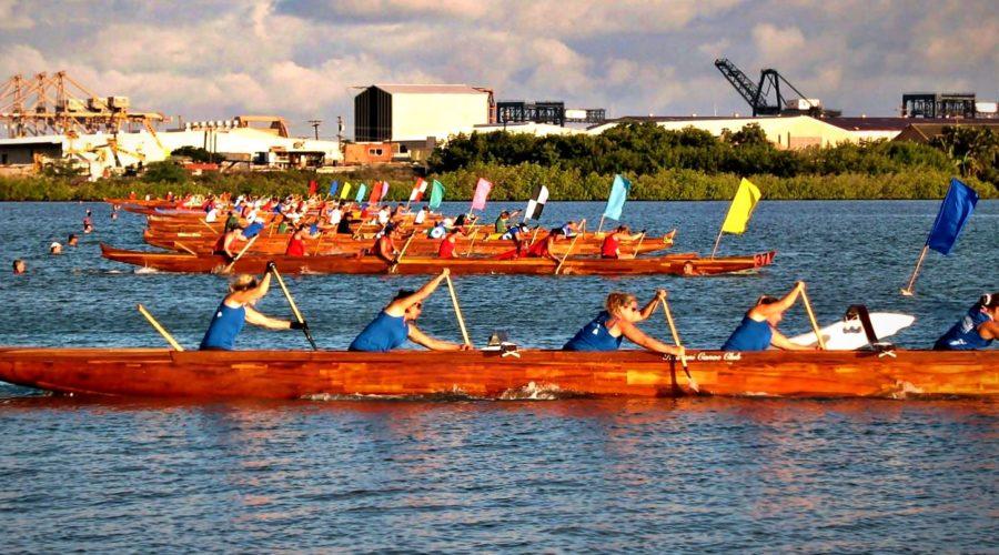 Hawaiian Canoe Racing Association Hosts State Championships on Maui